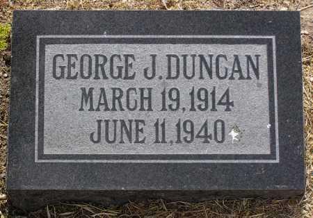 DUNCAN, GEORGE J. - Yavapai County, Arizona   GEORGE J. DUNCAN - Arizona Gravestone Photos