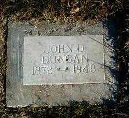 DUNCAN, JOHN D. ALLEN - Yavapai County, Arizona   JOHN D. ALLEN DUNCAN - Arizona Gravestone Photos