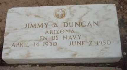 DUNCAN, JIMMY ALBURTIS - Yavapai County, Arizona | JIMMY ALBURTIS DUNCAN - Arizona Gravestone Photos