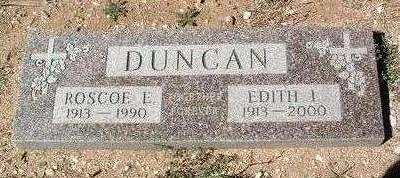 DUNCAN, EDITH I. - Yavapai County, Arizona | EDITH I. DUNCAN - Arizona Gravestone Photos