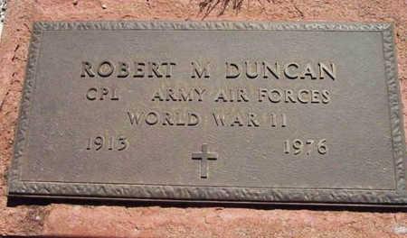 DUNCAN, ROBERT M. - Yavapai County, Arizona   ROBERT M. DUNCAN - Arizona Gravestone Photos