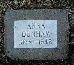 DUNHAM, ANNA - Yavapai County, Arizona | ANNA DUNHAM - Arizona Gravestone Photos
