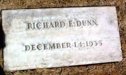 DUNN, RICHARD E. - Yavapai County, Arizona | RICHARD E. DUNN - Arizona Gravestone Photos