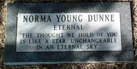 YOUNG DUNNE, NORMA - Yavapai County, Arizona | NORMA YOUNG DUNNE - Arizona Gravestone Photos
