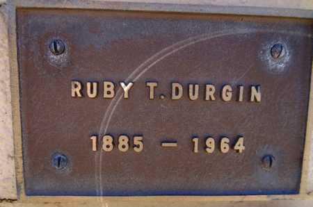 OWENS DURGIN, RUBY T. - Yavapai County, Arizona | RUBY T. OWENS DURGIN - Arizona Gravestone Photos