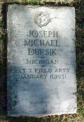 DURSIK, JOSEPH MICHAEL - Yavapai County, Arizona | JOSEPH MICHAEL DURSIK - Arizona Gravestone Photos