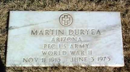 DURYEA, MARTIN - Yavapai County, Arizona | MARTIN DURYEA - Arizona Gravestone Photos