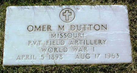DUTTON, OMER M. - Yavapai County, Arizona | OMER M. DUTTON - Arizona Gravestone Photos