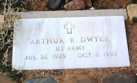 DWYER, ARTHUR R. - Yavapai County, Arizona | ARTHUR R. DWYER - Arizona Gravestone Photos