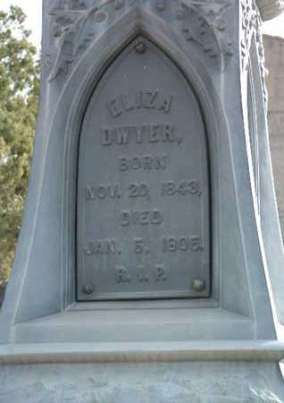 DWYER, ELIZA - Yavapai County, Arizona | ELIZA DWYER - Arizona Gravestone Photos
