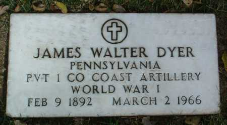 DYER, JAMES WALTER - Yavapai County, Arizona | JAMES WALTER DYER - Arizona Gravestone Photos