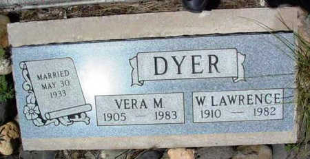 DYER, VERA M. - Yavapai County, Arizona | VERA M. DYER - Arizona Gravestone Photos