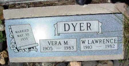 DYER, WALTER LAWRENCE - Yavapai County, Arizona   WALTER LAWRENCE DYER - Arizona Gravestone Photos