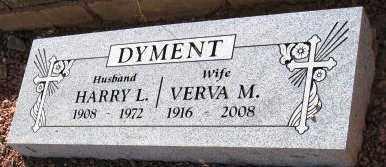 DYMENT, HARRY LAWRENCE - Yavapai County, Arizona | HARRY LAWRENCE DYMENT - Arizona Gravestone Photos
