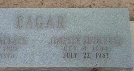 EAGAR, JIMPSEY RUTH - Yavapai County, Arizona | JIMPSEY RUTH EAGAR - Arizona Gravestone Photos