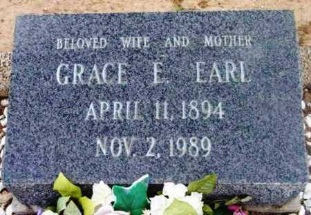 EARL, GRACE ELIZABETH - Yavapai County, Arizona | GRACE ELIZABETH EARL - Arizona Gravestone Photos