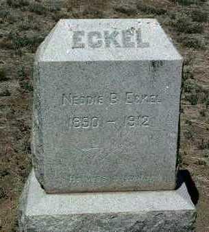 ECKEL, NEDDIE BENTON - Yavapai County, Arizona   NEDDIE BENTON ECKEL - Arizona Gravestone Photos