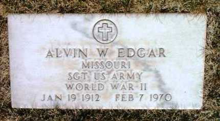 EDGAR, ALVIN W. - Yavapai County, Arizona   ALVIN W. EDGAR - Arizona Gravestone Photos