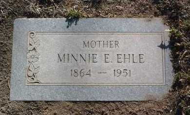 EHLE, MINNIE ETTA - Yavapai County, Arizona | MINNIE ETTA EHLE - Arizona Gravestone Photos