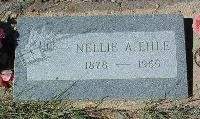 EHLE, NELLIE A. - Yavapai County, Arizona   NELLIE A. EHLE - Arizona Gravestone Photos