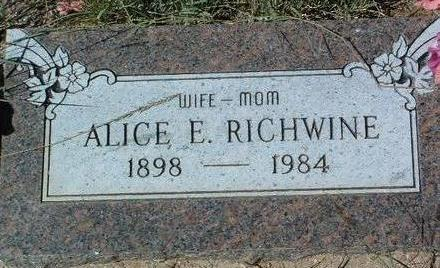EHLE RICHWINE, ALICE VIOLA - Yavapai County, Arizona | ALICE VIOLA EHLE RICHWINE - Arizona Gravestone Photos