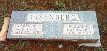 EISENBERG, NELLIE F. - Yavapai County, Arizona   NELLIE F. EISENBERG - Arizona Gravestone Photos