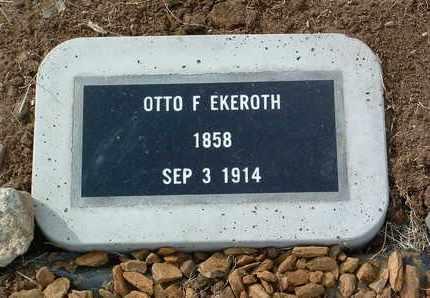 EKEROTH, OTTO F. - Yavapai County, Arizona | OTTO F. EKEROTH - Arizona Gravestone Photos