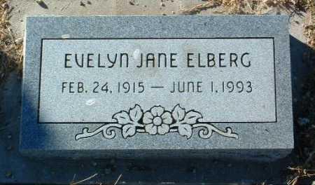 ESREY ELBERG, EVELYN JANE - Yavapai County, Arizona | EVELYN JANE ESREY ELBERG - Arizona Gravestone Photos