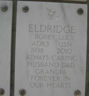 ELDRIDGE, BOBBY LEE - Yavapai County, Arizona | BOBBY LEE ELDRIDGE - Arizona Gravestone Photos