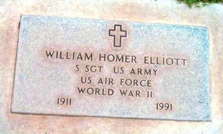 ELLIOTT, WILLIAM HOMER - Yavapai County, Arizona | WILLIAM HOMER ELLIOTT - Arizona Gravestone Photos