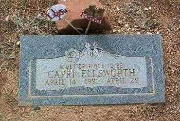 ELLSWORTH, CAPRI - Yavapai County, Arizona | CAPRI ELLSWORTH - Arizona Gravestone Photos