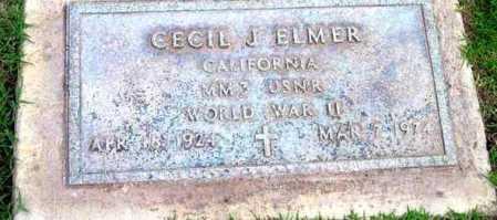 ELMER, CECIL JEDSON - Yavapai County, Arizona | CECIL JEDSON ELMER - Arizona Gravestone Photos