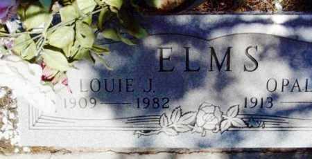 ELMS, LOUIE JAMES - Yavapai County, Arizona | LOUIE JAMES ELMS - Arizona Gravestone Photos