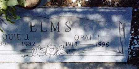BIRD ELMS, OPAL LOU - Yavapai County, Arizona | OPAL LOU BIRD ELMS - Arizona Gravestone Photos