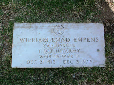 EMPENS, WILLIAM LOYD - Yavapai County, Arizona | WILLIAM LOYD EMPENS - Arizona Gravestone Photos