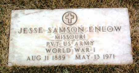 ENLOW, JESSE SAMSON - Yavapai County, Arizona | JESSE SAMSON ENLOW - Arizona Gravestone Photos
