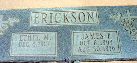 ERICKSON, ETHEL M. - Yavapai County, Arizona | ETHEL M. ERICKSON - Arizona Gravestone Photos