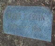 FAULKNER ERVIN, MARIE - Yavapai County, Arizona | MARIE FAULKNER ERVIN - Arizona Gravestone Photos