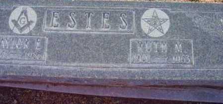 LILLIE ESTES, RUTH MAY - Yavapai County, Arizona | RUTH MAY LILLIE ESTES - Arizona Gravestone Photos