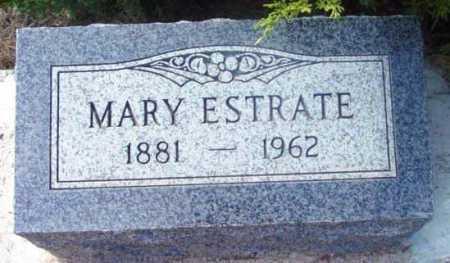 ESTRATE, MARY - Yavapai County, Arizona | MARY ESTRATE - Arizona Gravestone Photos