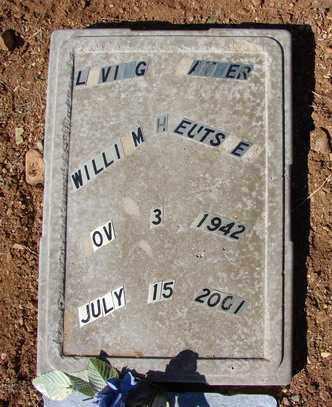 EUTSLER, WILLIAM HENRY - Yavapai County, Arizona   WILLIAM HENRY EUTSLER - Arizona Gravestone Photos