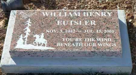 EUTSLER, WILLIAM HENRY - Yavapai County, Arizona | WILLIAM HENRY EUTSLER - Arizona Gravestone Photos