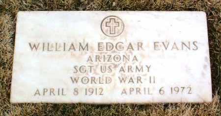 EVANS, WILLIAM EDGAR - Yavapai County, Arizona | WILLIAM EDGAR EVANS - Arizona Gravestone Photos