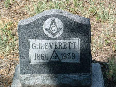 EVERETT, GUSTAVE G. - Yavapai County, Arizona | GUSTAVE G. EVERETT - Arizona Gravestone Photos