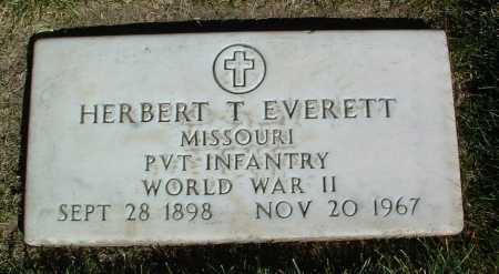 EVERETT, HERBERT T. - Yavapai County, Arizona | HERBERT T. EVERETT - Arizona Gravestone Photos