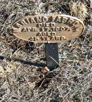 FABRON, MARIANO - Yavapai County, Arizona   MARIANO FABRON - Arizona Gravestone Photos