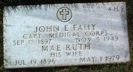 FAHY, MAE RUTH - Yavapai County, Arizona | MAE RUTH FAHY - Arizona Gravestone Photos