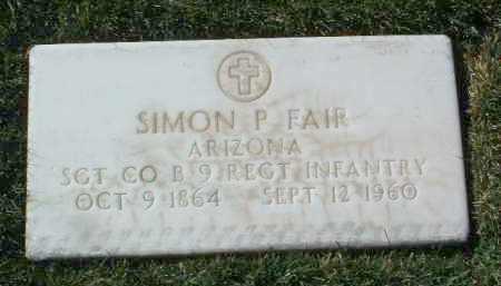 FAIR, SIMON PETER - Yavapai County, Arizona | SIMON PETER FAIR - Arizona Gravestone Photos