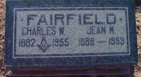 MACKENZIE FAIRFIELD, J. - Yavapai County, Arizona | J. MACKENZIE FAIRFIELD - Arizona Gravestone Photos