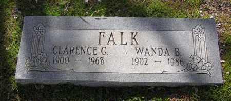 BROWNING FALK, WANDA - Yavapai County, Arizona | WANDA BROWNING FALK - Arizona Gravestone Photos